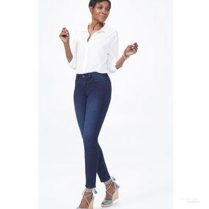 NYDJ Alina Skinny Legging Dark Wash Jeans Size 12